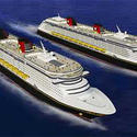 Disney Dream and Fantasy cruise ships