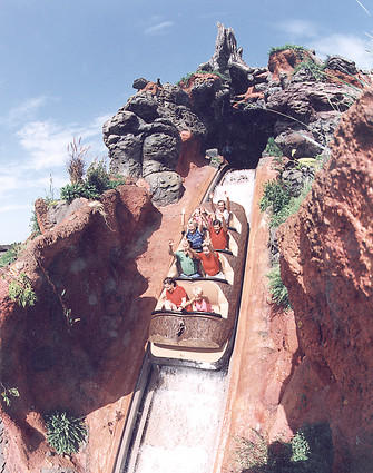 Splash Mountain at Walt Disney World's Magic Kingdom .