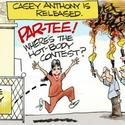 Dana Summers Cartoon: Casey Anthony: Casey released from jail
