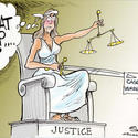 Dana Summers Cartoon: Casey Anthony: Verdict, Casey Anthony case, justice