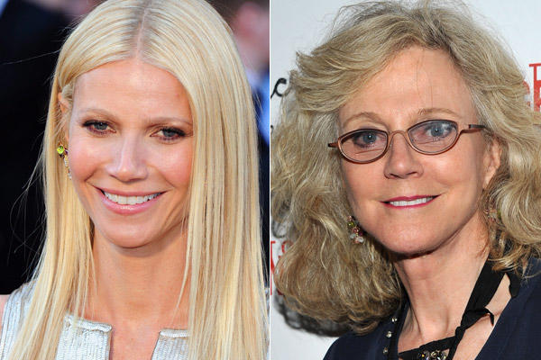 "Gwyneth Paltrow, daughter of Blythe Danner, won a best actress Oscar for ""Shakespeare in Love"" and, lately, had a recurring role in ""Glee."" Her mother is most recently known for her role in the ""Meet the Parents"" films."