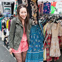 Street fashion: Rose Bowl Flea Market