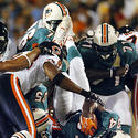 Ricky Williams is tackled