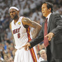 LeBron James, Erik Spoelstra