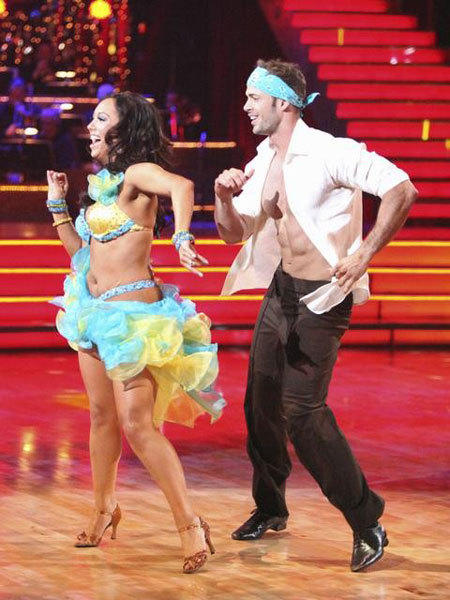 William Levy and Cheryl Burke