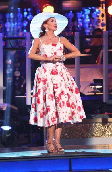 "Melissa Gilbert competes on ""Dancing With the Stars."""