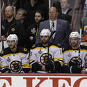 Bruins' bench