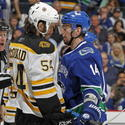 Alex Burrows, Adam McQuaid