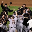 November 1 - Giants win World Series