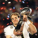February 7 - New Orleans Saints win the Super Bowl