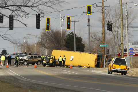 School bus crash in Lake County -- Chicago Tribune