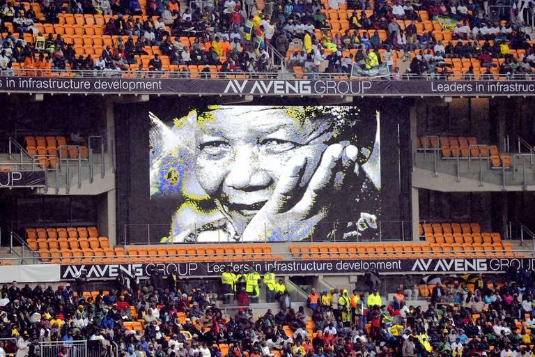Photos: Memorial for Mandela -- Chicago Tribune