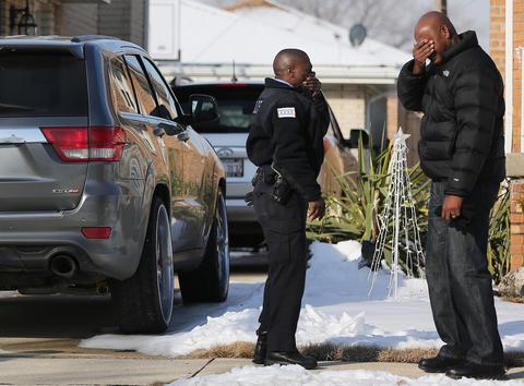 Photos: Fatal multi-vehicle crash scene -- Chicago Tribune
