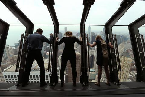 Tilt At The John Hancock Center Chicago Tribune