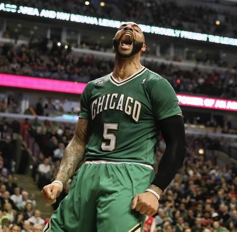 Photos: Carlos Boozer in action -- Chicago Tribune