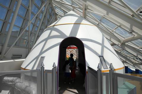 adler planetarium space shuttle simulator - photo #15