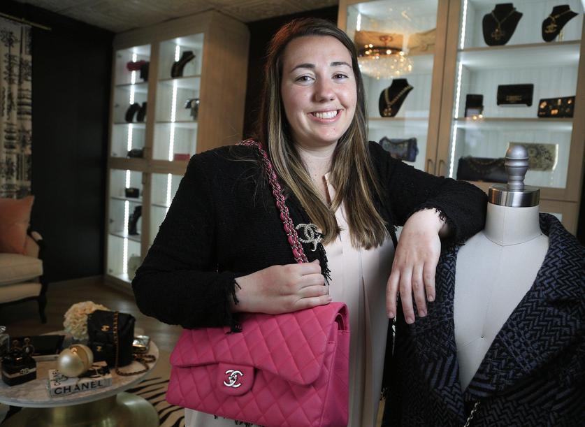 8fc63342efb0 Designer Vault founder Christina Samoylov at her Carlsbad shop