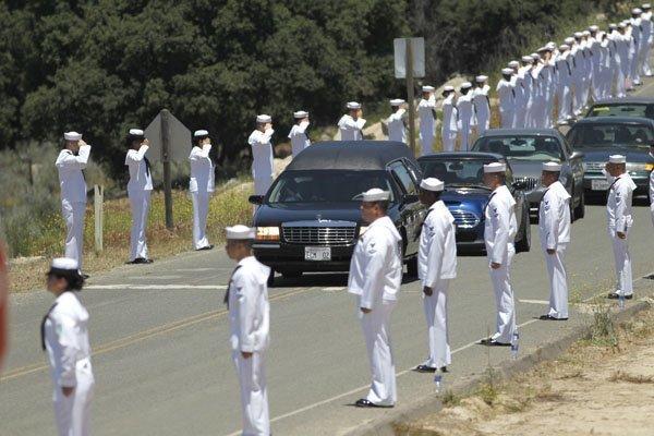 Family and friends bid farewell to John Finn - The San Diego