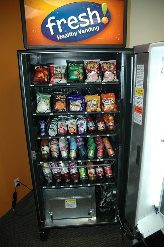 Vending Machines Lighten Up The San Diego Union Tribune