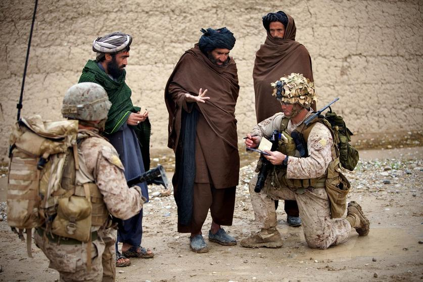 Marines Make Friends While Dodging Bombs In Sangin The San Diego