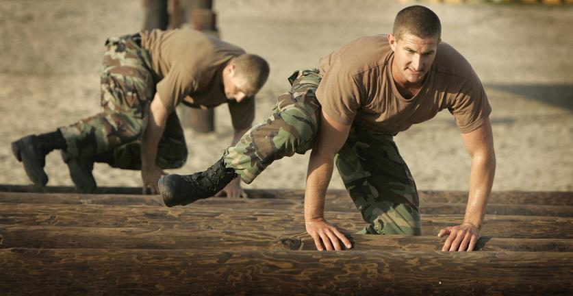 Elite Navy SEALs let actions do their talking - The San