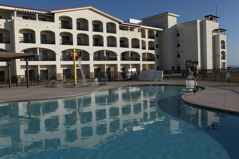 The Swimming Pool At New Coronado Navy Lodge Sean M Haffey