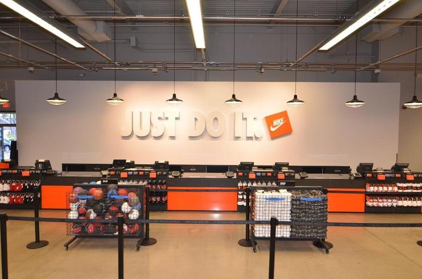 1966e3f3cd The Nike Factory Store in San Ysidro is showcasing a new look with grand  reopening events this weekend.