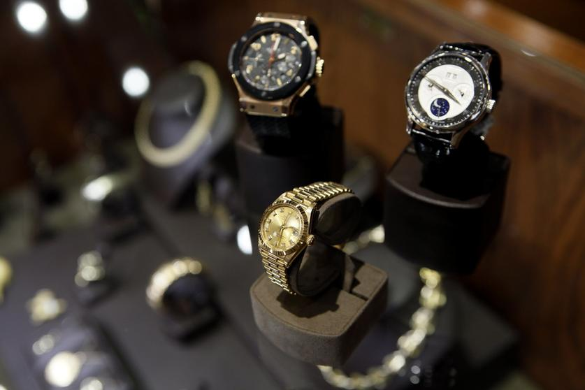 cd5f3704d5 Pre-owned Rolex watches are among the top sellers at Leo Hamel s showroom.  — Peggy Peattie. San Diego ...