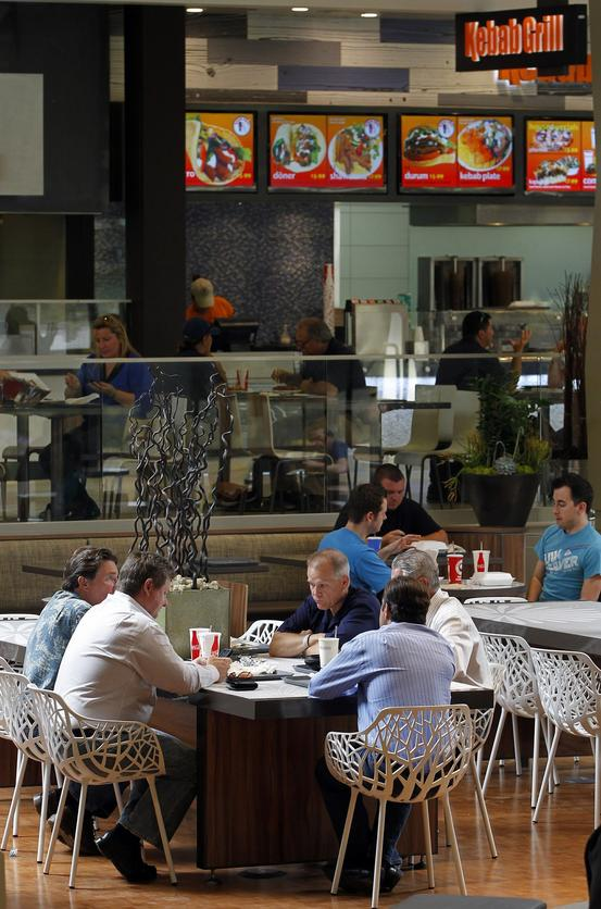c0ec70e85b This is the newly remodeled food court at Westfield UTC on Thursday in San  Diego