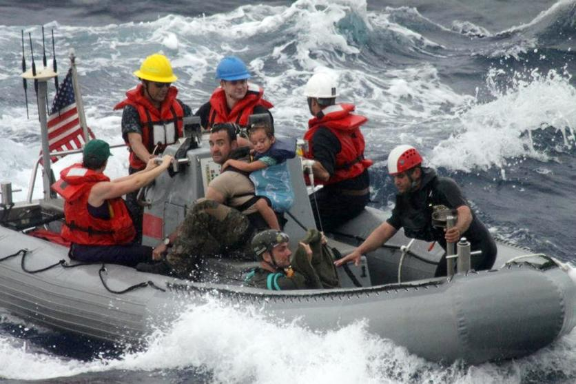 Family rescued at sea sues phone company over loss of boat - The San