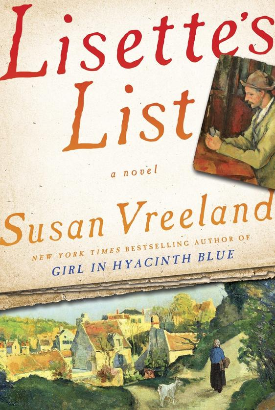 Susan Vreeland talks about new novel, 'Lisette's List' - The