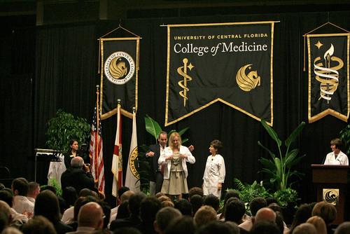 UCF Medical School first day of class - Capital Gazette