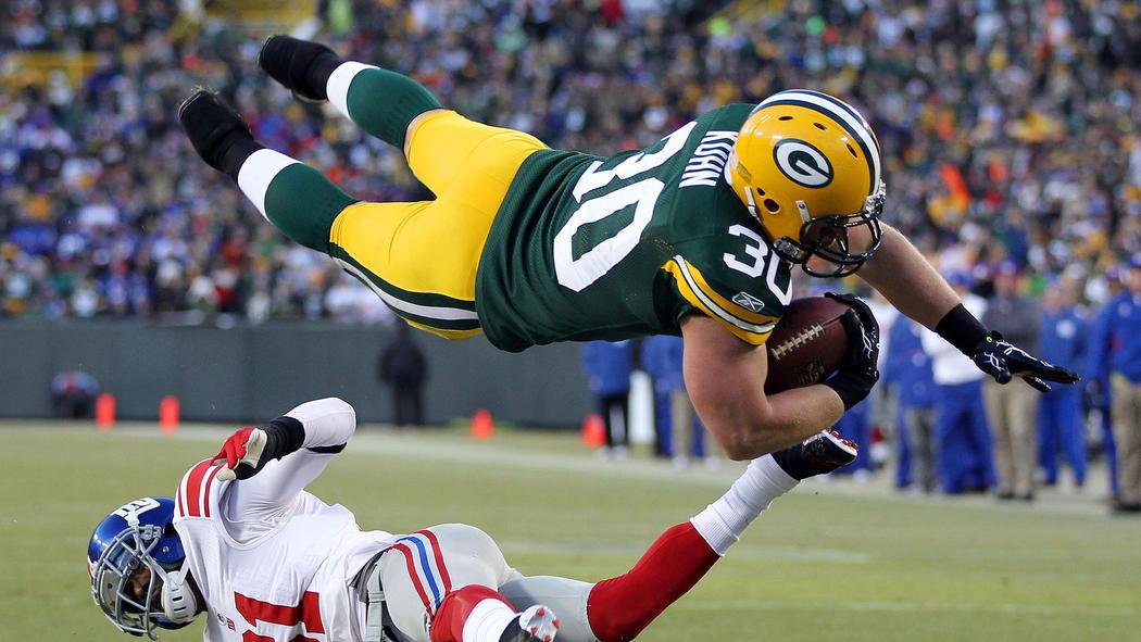 bóng bầu dục - touchdown
