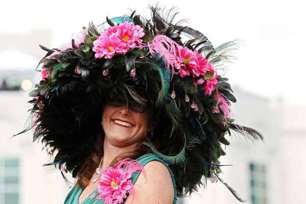 1c85af3bec6 Pictures  Kentucky Derby Hats - Capital Gazette
