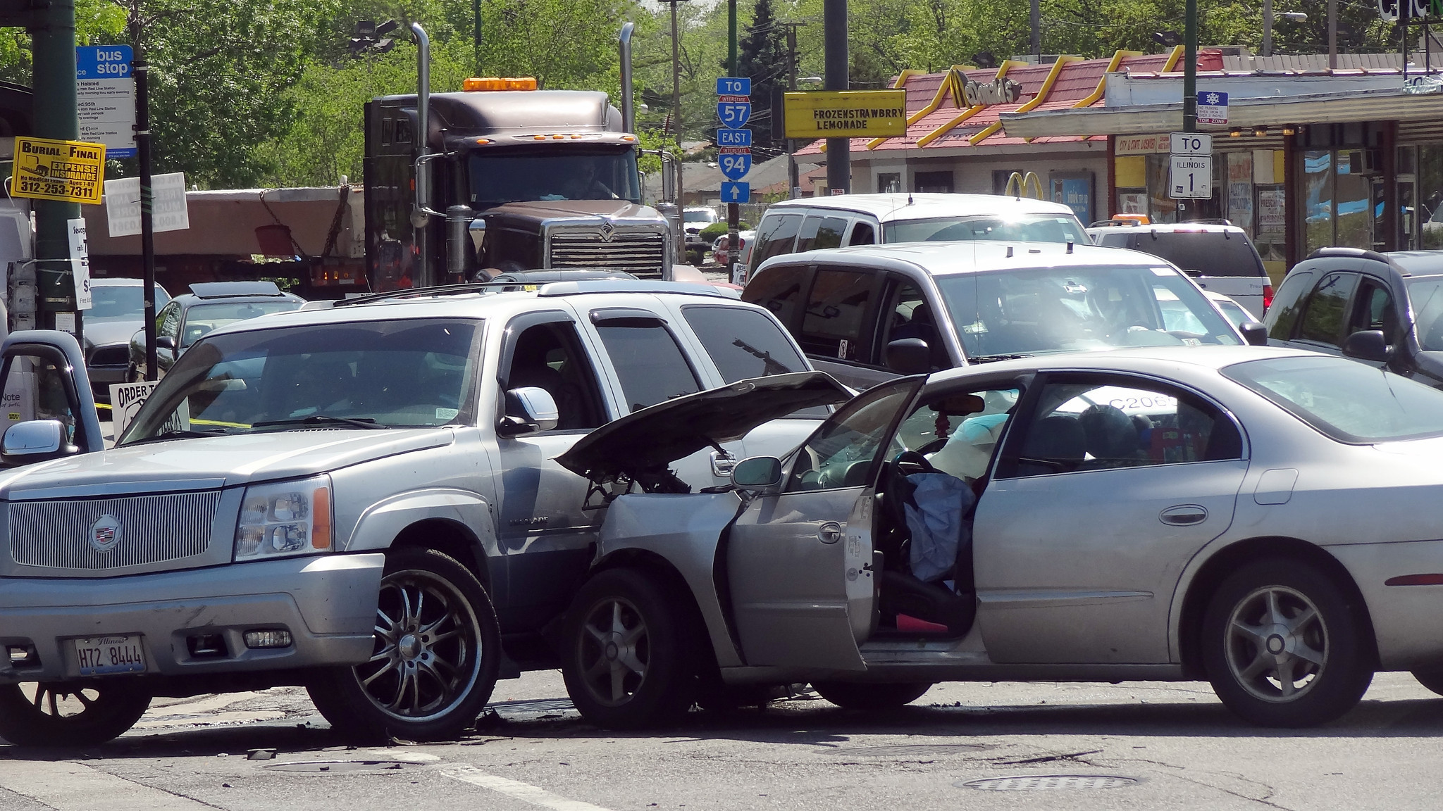 Police Chase Ends In Crash On South Side