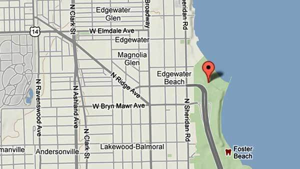 2 seriously injured in crash on lake shore drive
