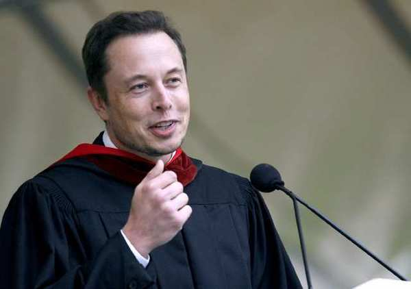 Elon Musk, CEO of SpaceX and Tesla Motors, was ...