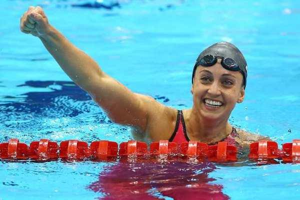 London Olympics: Rebecca Soni wins gold in world record ...