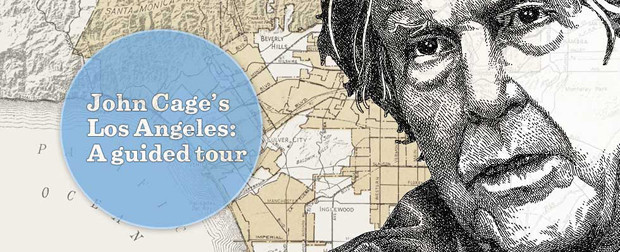 Take an interactive tour of John Cage's Los Angeles.(Lily Mihalik / Los Angeles Times)