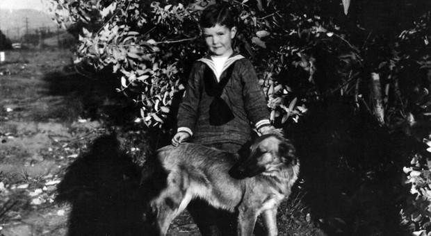 Caption: John Milton Cage, Jr., in Los Angeles circa 1918. (John Cage Trust)