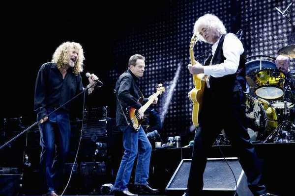 led zeppelin 39 s 2007 reunion concert due in theaters home video latimes. Black Bedroom Furniture Sets. Home Design Ideas