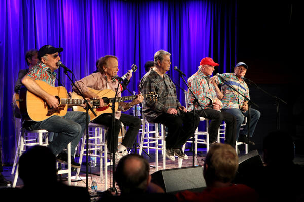 The Beach Boys Shown At Grammy Museum In Los Angeles End Their 50th