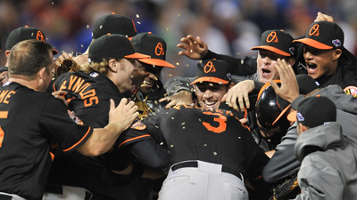 Orioles beat Rangers, 5-1, in wild-card game and advance to face