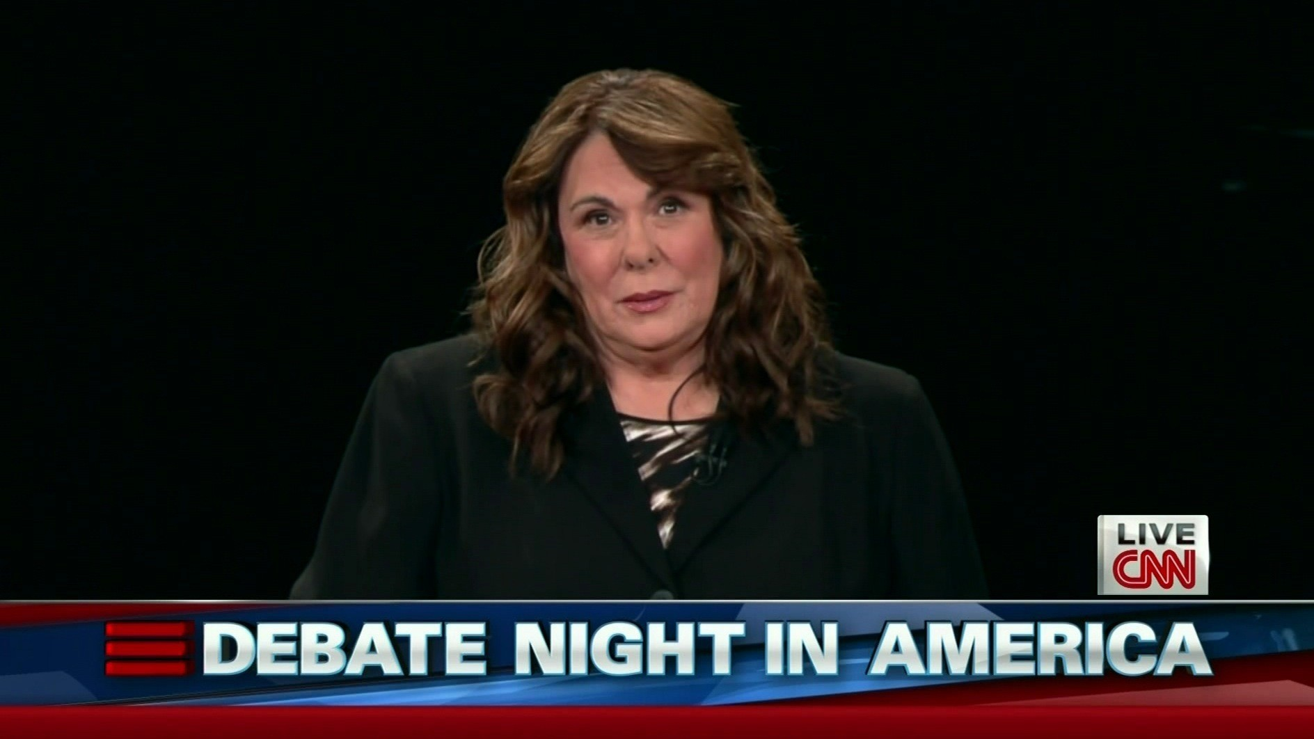 What Candy Crowley said -- before the debate -- about ...