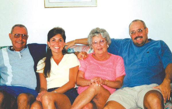 This photo was taken in June 1999 on a family vacation in Ocean City, Md. Pictured, from left, are Donald Oberholzer, Brenda Oberholzer, Jean Oberholzer and Brian Oberholzer.