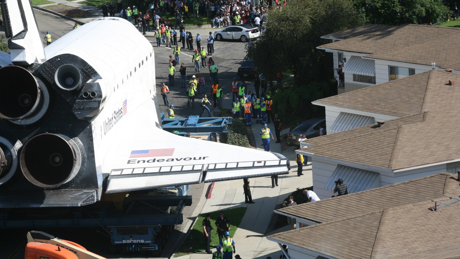 space shuttle endeavour time lapse - photo #1