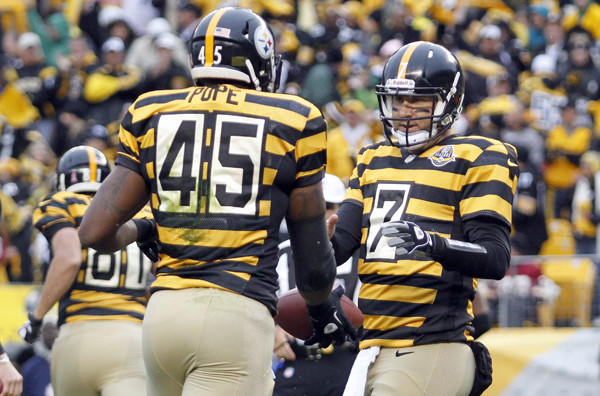 The uniforms worn by the Pittsburgh Steelers Sunday may well be the ... 84151e63e
