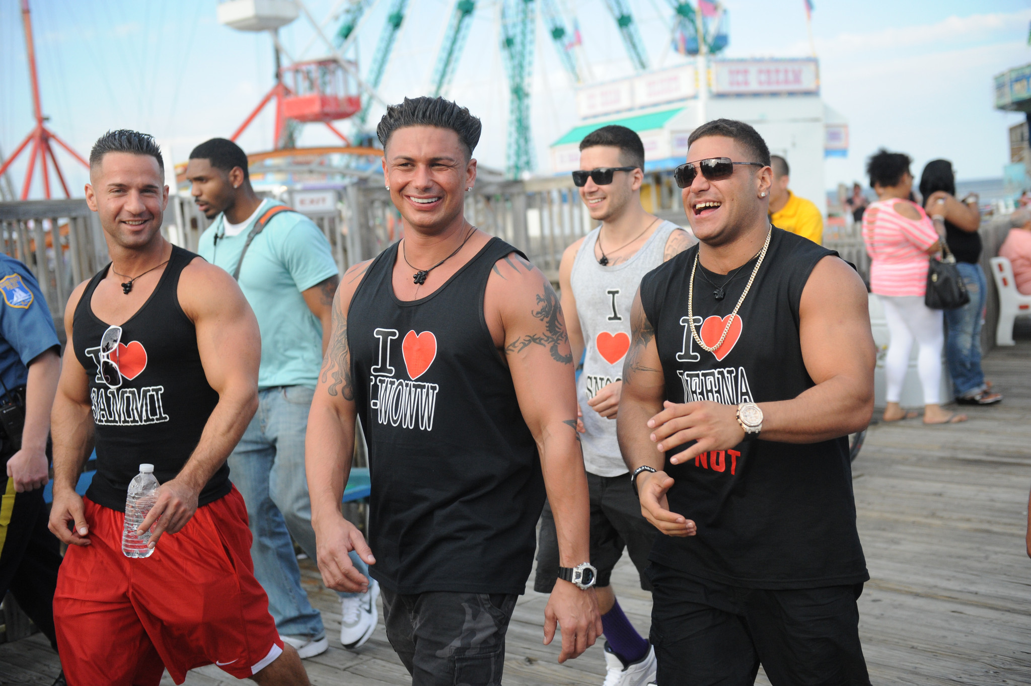 Is mike from jersey shore dating paula