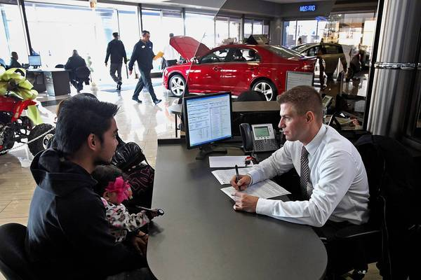 Nissan Dealership Los Angeles >> U.S. auto sales zoom in wake of Superstorm Sandy - latimes