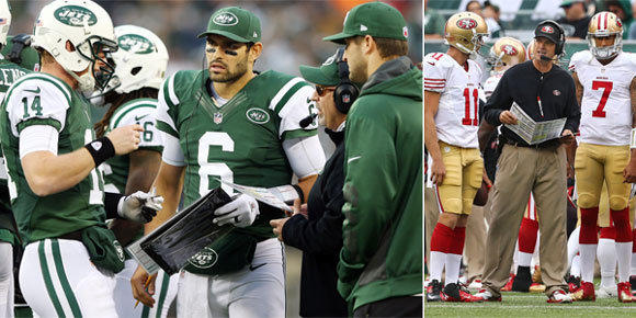 Who should be the starting QB for the Jets and 49ers this Sunday ... aa72678b0